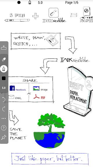 handwriting app for writers