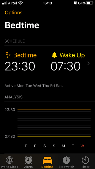 bedtime sleep tracker