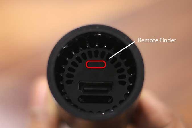 remote finder button