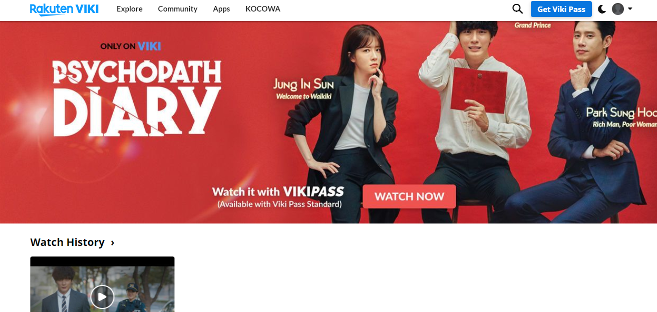 Viki Asian Shows and Movies