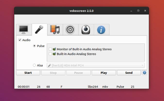 screen recording options for vokoscreen