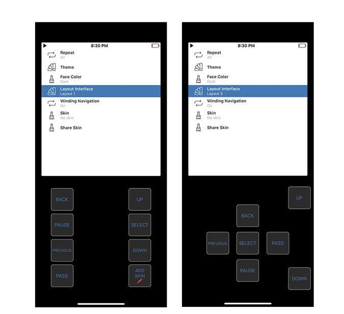 Rewound iPod Music App