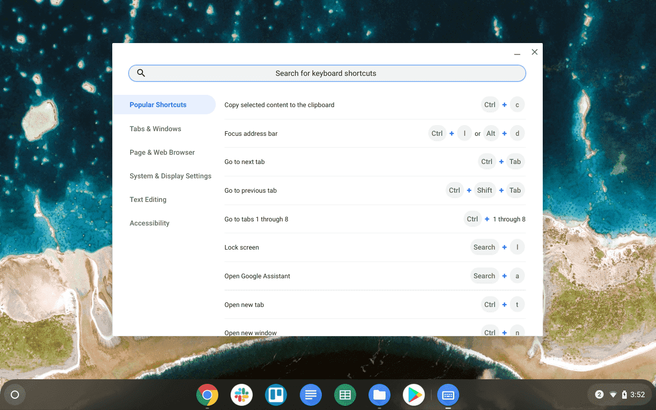 Know every shortcut on Chromebook easily