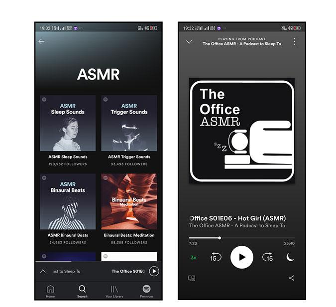 Spotify ASMR