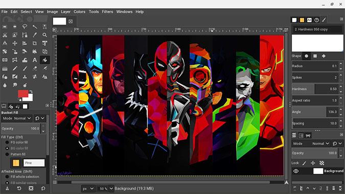 GIMP on Chromebook