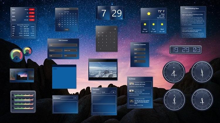widgets hd live wallpaper