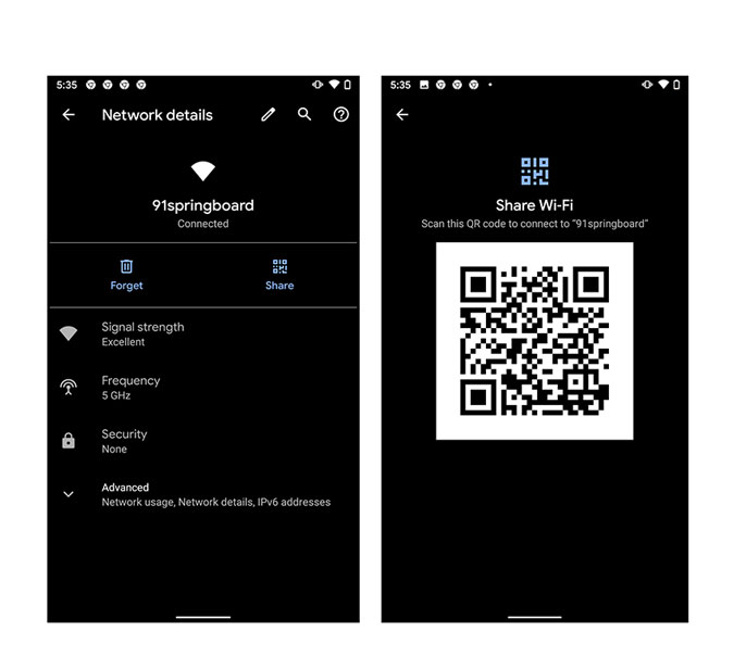 6 Qr Code Apps To Share Wifi Password From One Phone To Another Techwiser