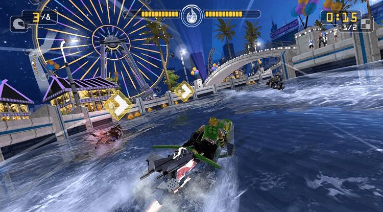 jet rider racing game