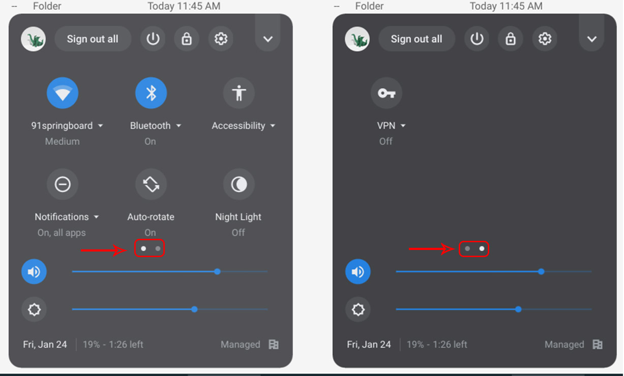 Multiple Quick Settings Pages