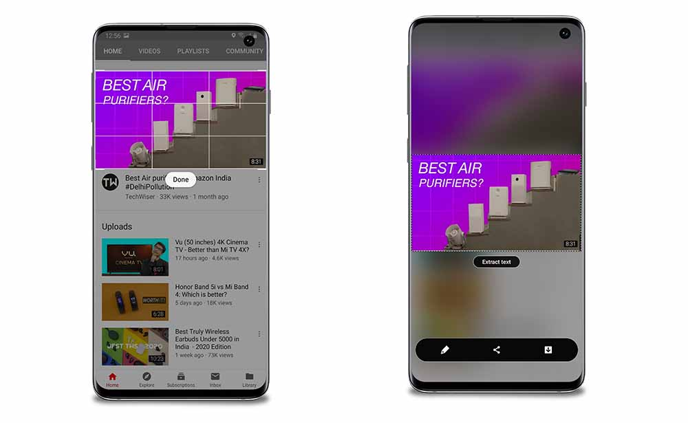 Smart Select One UI 2.0
