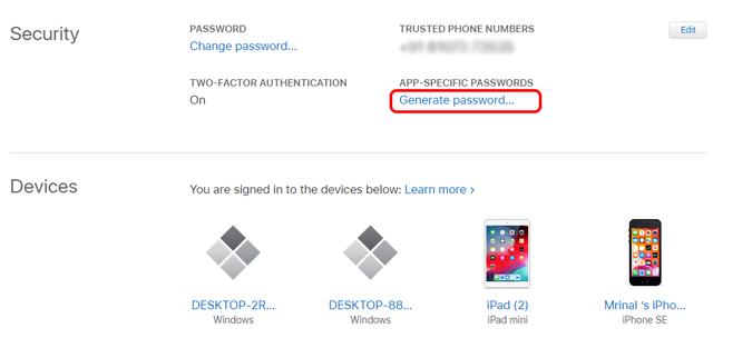 generate-app-password