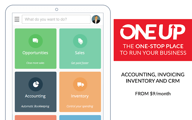 one up mobile layout