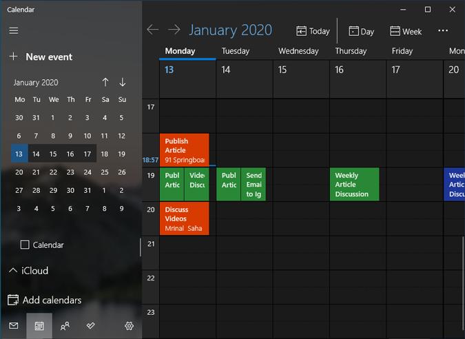 microsoft-calendar-events