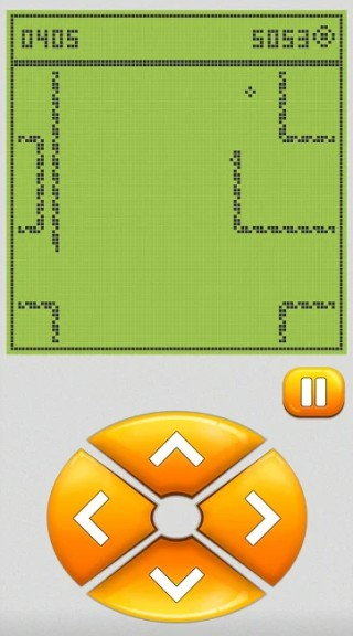 retro and classic snake game