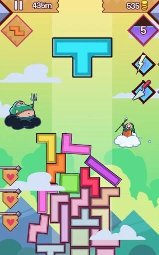 tetris with magic spells