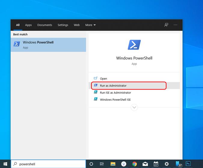 windows-powershell-run-as-administrator