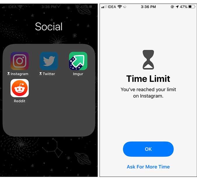 apps locked - lock app on iphone