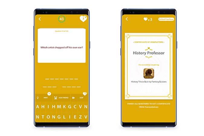 History Trivia Quiz - Best Quiz Apps Android