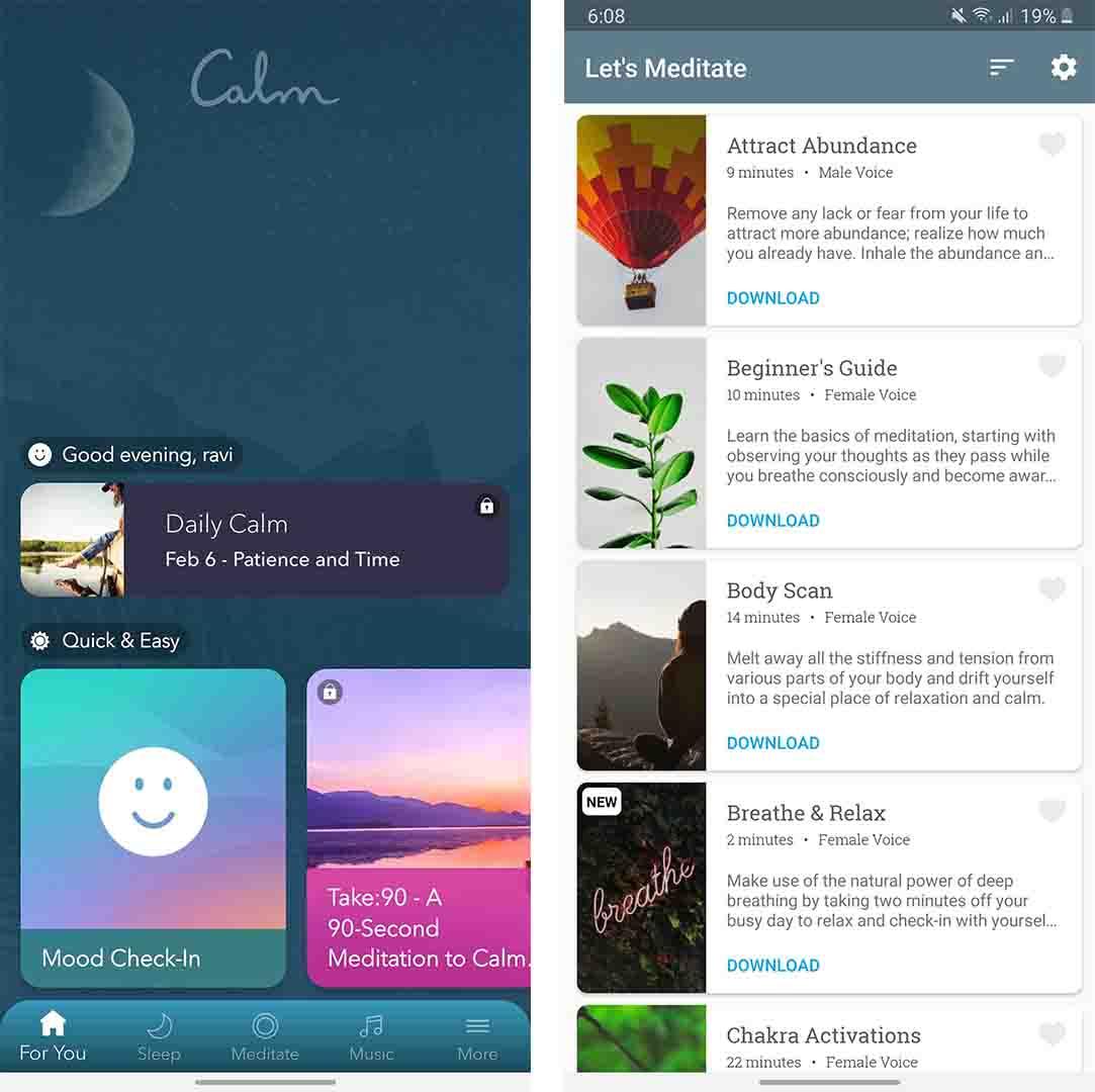 Meditation Apps - best lucid dreaming app