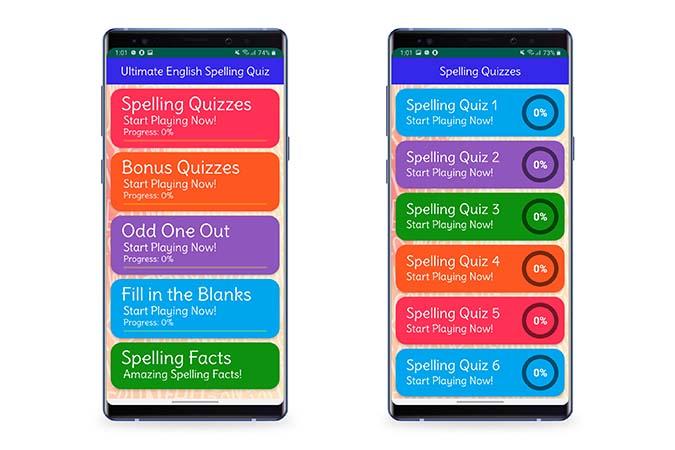 Ultimate English Spelling Quiz
