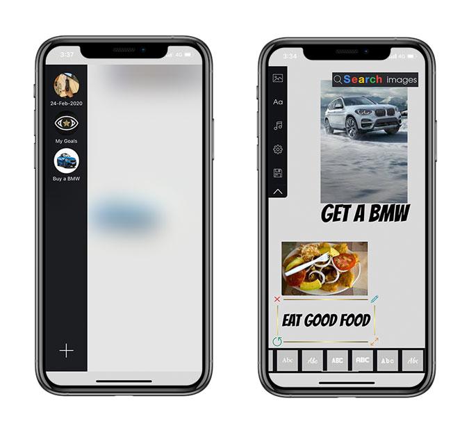Vision Board iOS