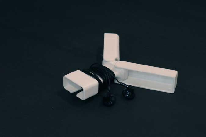 Earphone holder 3d print