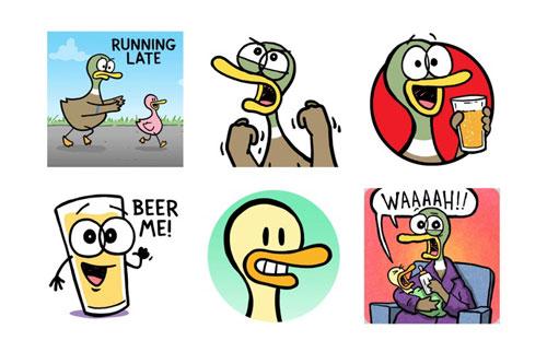 fowl language stickers - Top iMessage Stickers