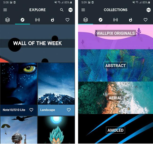 wallpix - best wallpaper apps android