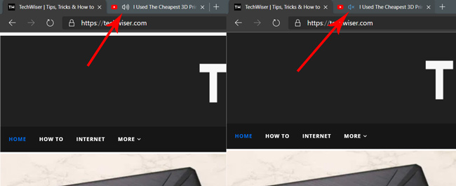 Muting tabs on Edge Chromium