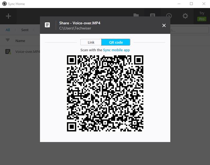 resilio-windows-app-barcode