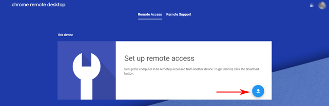 setting up remote access on host device