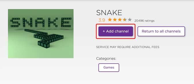 install snake game