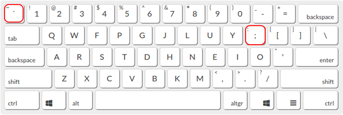 Keyboard showing beat keys for Push to talk on Discord