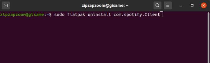 flatpak_uninstall_app