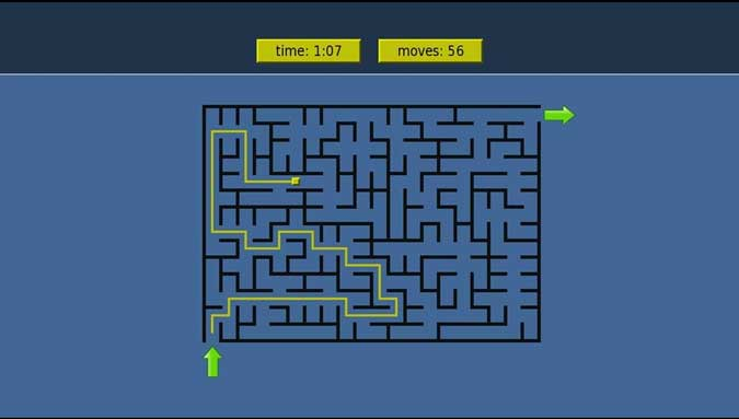 mazes game on Roku