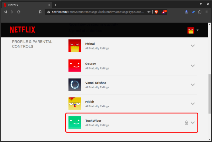 profile_lock_inside_account_settings - how to set up parental controls on netflix