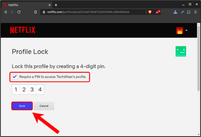 setup_profile_pin_for_netflix_profile