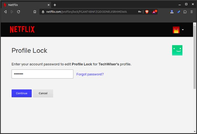 verify_enter_account_password - how to set up parental controls on netflix
