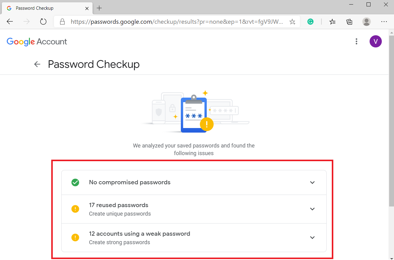 google password check vs Firefox Monitor