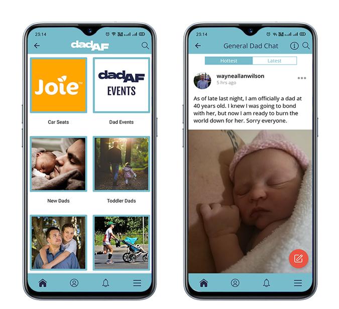 dad af - best parenting apps