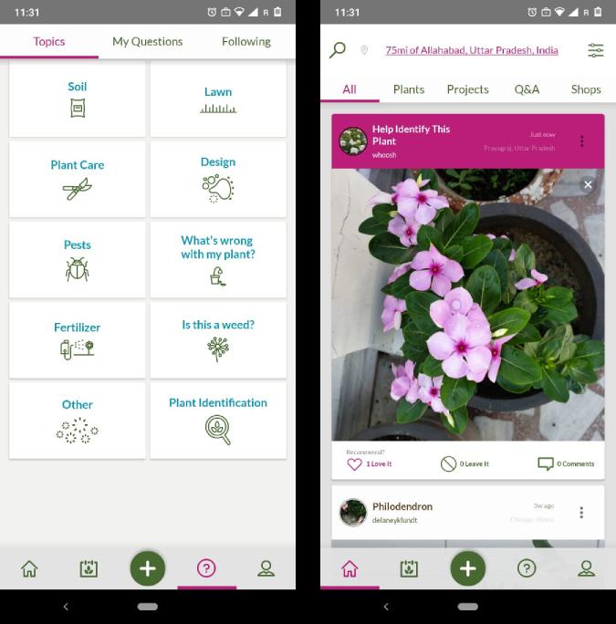 growIt - Gardening Apps