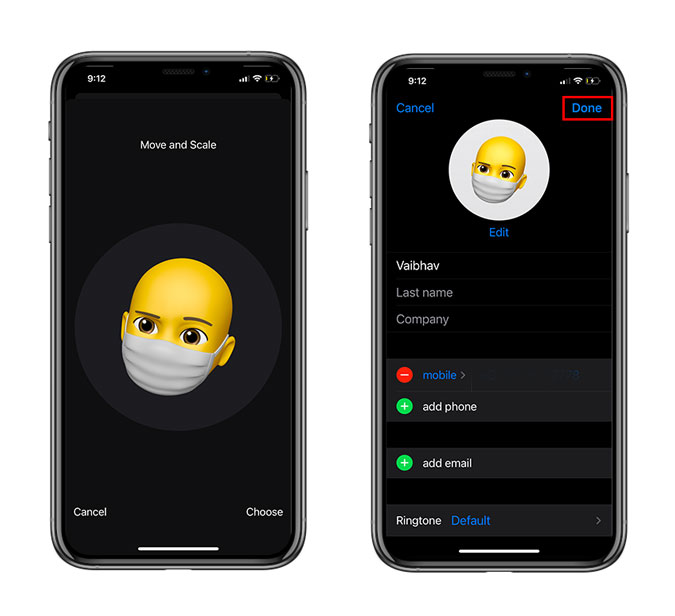 How to Add Face Mask to Memoji in iOS 14