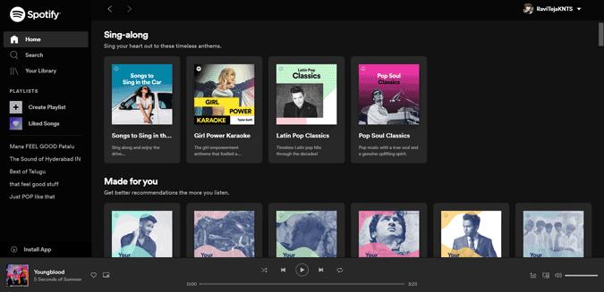 Playing Spotify on PWA