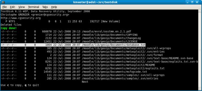 test-disk-file-detection