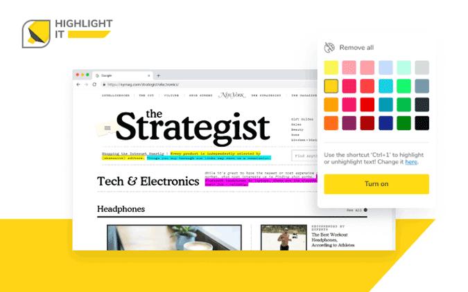 Highlight it