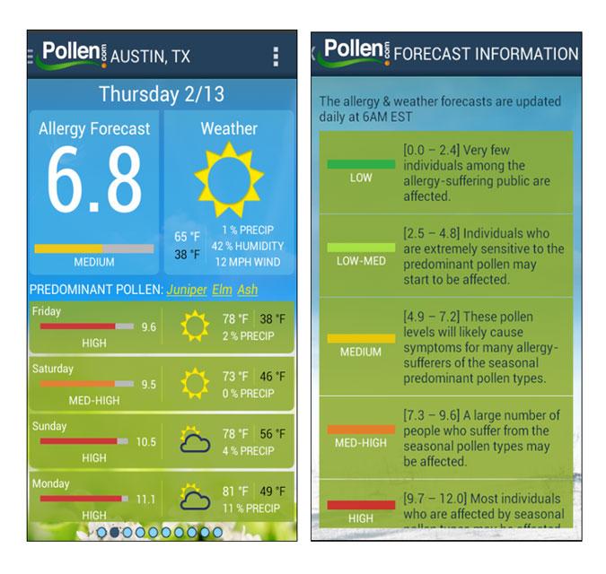 Best Pollen Apps