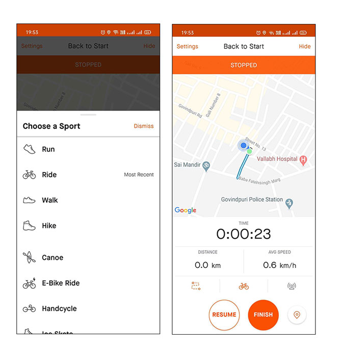 Apps for Cyclists