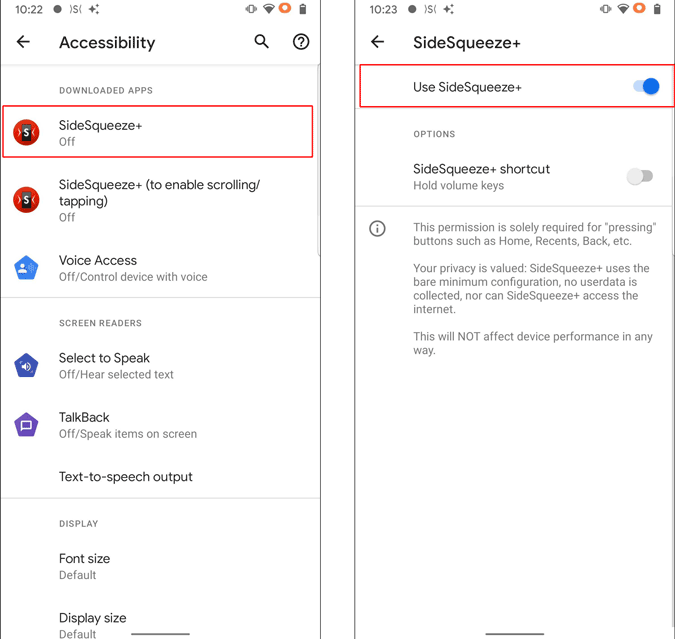 Enabling Accessibility Permissions
