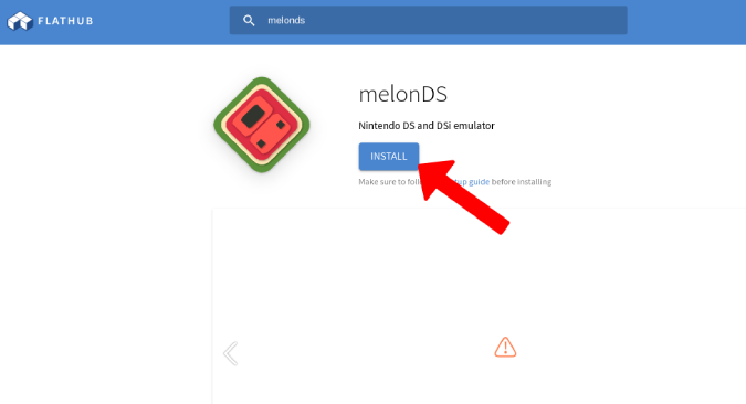 melonDSのインストール