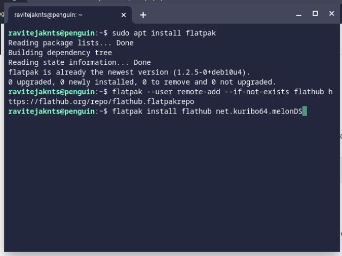 ChromebookへのFlatpakアプリのインストール